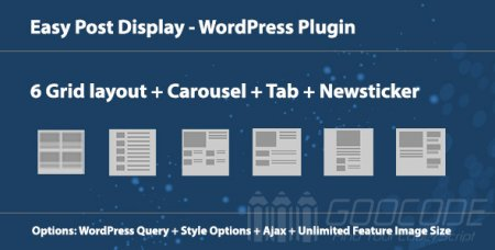 6 useful blog post displaying plugins for wordpress - free to premium