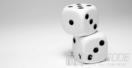 Use dice to play guessing the size game (which can control probability)