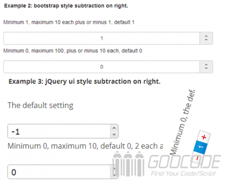 Digital subtraction by jQuery plugin