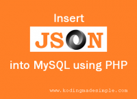 Use PHP to serialize data and JSON to formate data