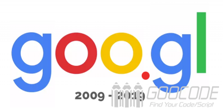 Google officially closed the short URL service GOO.GL