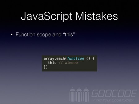 8 common pitfalls in JavaScript